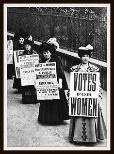 Foco especial! 03 de novembro - Dia da instituição do direito de voto da mulher no Brasil.