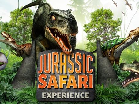 Foco nos eventos! Jurassic Safari Experience