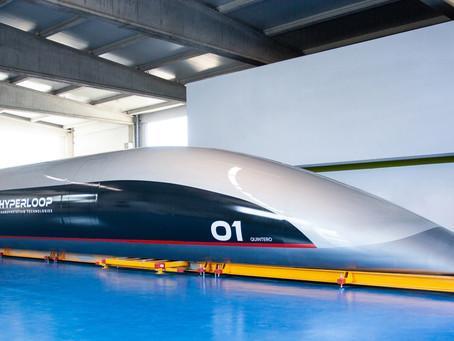 FOCO NA TECNOLOGIA Eletrobras e HyperloopTT  energia renovável em transporte de altíssima velocidade