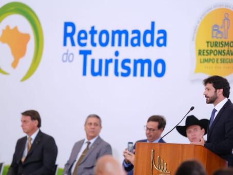 FOCO NO TURISMO! Governo federal lança a Retomada do Turismo