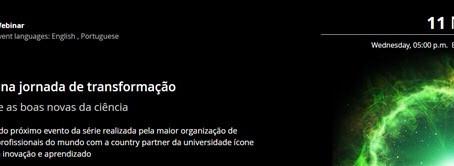 Foco nas lives! Webinar – Brasil na jornada de transformação