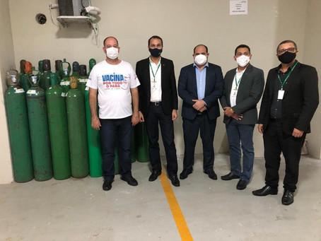 Foco na solidariedade! Basa doa 45 cilindros de oxigênio para a Secretaria de Saúde do Pará