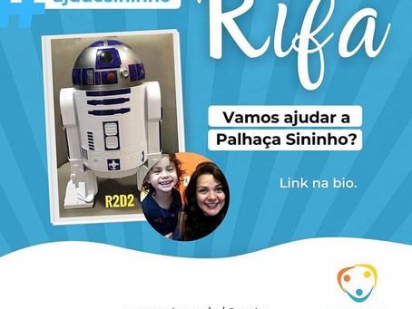 FOCO NA SOLIDARIEDADE! Ajude a Palhaça Sininho!