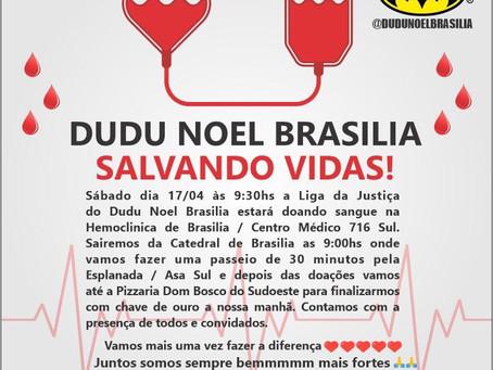 Foco na Vida! Dudu Noel e os Super Heróis - Salvando Vidas! Doando Sangue!