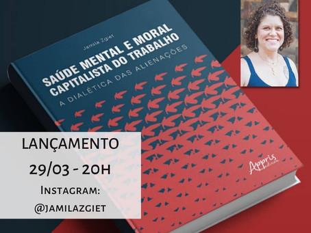 Foco na cultura! Lançamento de Livro – Jamila Zgiet