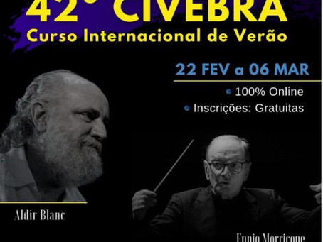 Foco nas oportunidades! 42º CIVEBRA – Curso Internacional de Verão – Escola de Música de Brasília