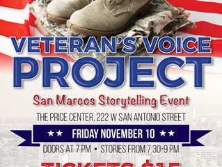 VETERANS DAY EVENT GIVES VOICE TO THE STORIES OF LOCAL VETS, FAMILIES