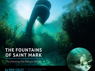 Fountains of St Mark Author to Speak, Paintings to be Featured June 22