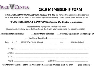 ANNUAL MEMBER ENROLLMENT & RENEWAL UNDERWAY @ PRICE CENTER
