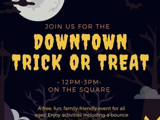 4TH FLEA OFFERING HALLOWEEN TRICKS, TREATS AND DISCOUNTS