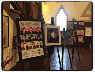 SMCISD K-12 YOUTH ART MONTH RECEPTION SET FOR MARCH 30 AT PRICE CENTER
