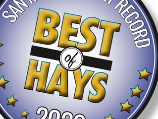 "PRICE CENTER NAMED ""BEST OF HAYS"" SECOND YEAR IN A ROW"