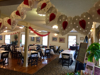 PRICE CENTER TEA ROOM HOSTING SPECIAL VALENTINE'S DINNER