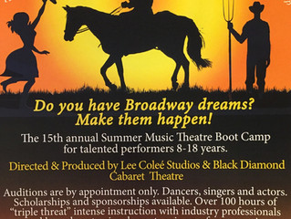 Oklahoma Focus of Musical Theatre Boot Camp and Performances at Center