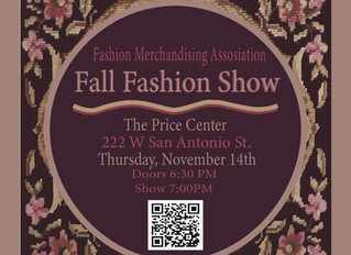 SAN MARCOS STYLE FOCUS OF FMA FALL FASHION SHOW @ PRICE CENTER