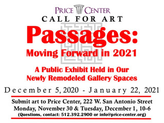 PASSAGES & MORE FOCUS OF NEW ART EXHIBITS COMING TO THE PRICE CENTER