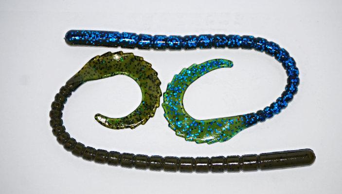 """Okeechobee Craw"" 10.5"" Gator Tail Worm"