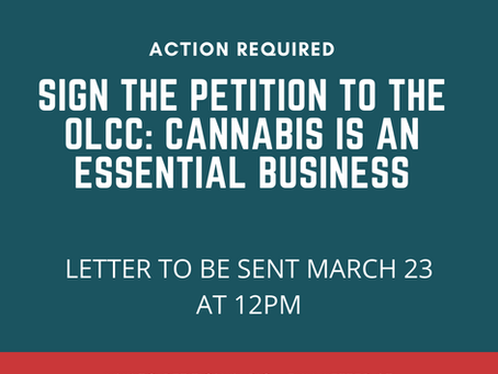 Sign the Petition: Cannabis is an Essential Business