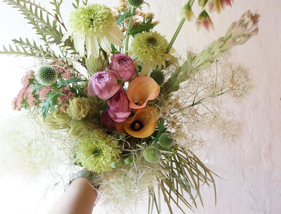 季節のおまかせブーケ(fresh flowers)Sサイズ