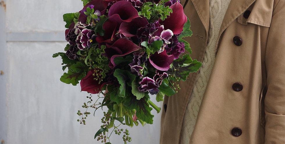 シックブーケ(fresh flowers)Mサイズ
