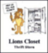 Link to Lions Closet page
