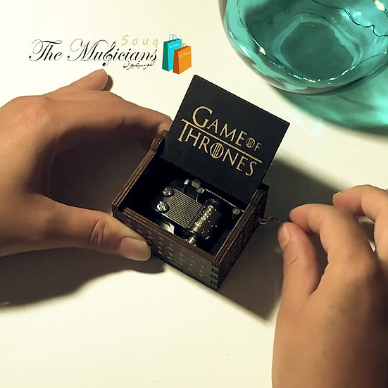 Game of Thrones Theme - Special Crafted Music Box