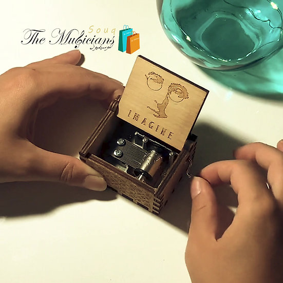 Imagine - John Lennon - Special Crafted Music Box