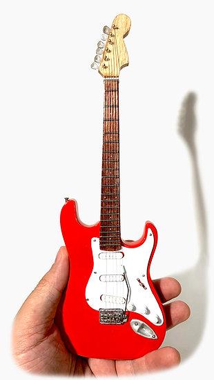 Fender Stratocaster Handcrafted Guitar Miniature