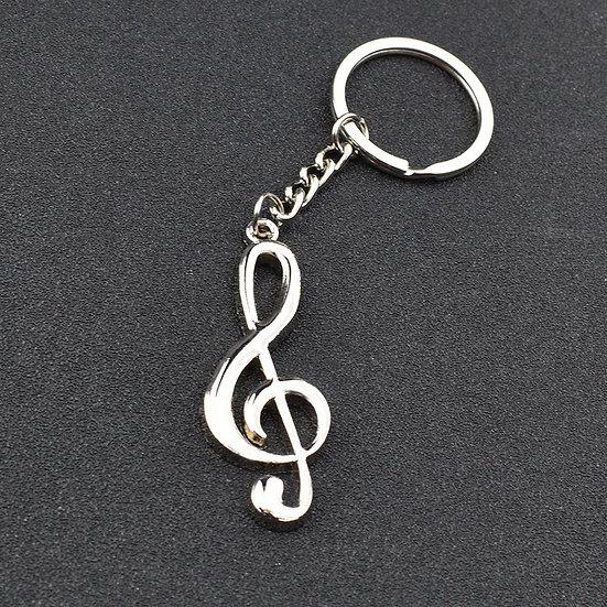 Treble Clef Keychain - High Quality Creative Music Gift
