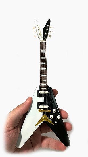 Michael Schenker Handcrafted Unique FlyingV Guitar Miniature