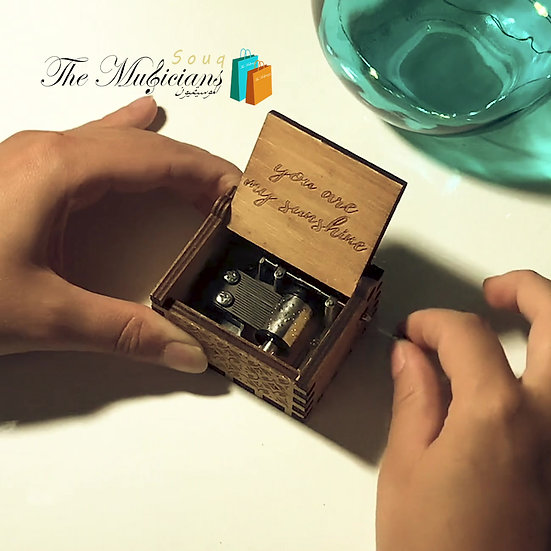You are My Sunshine - Special Crafted Music Box