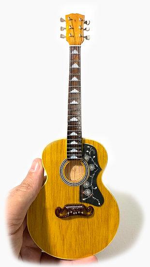 Luciano Ligabue Handcrafted Guitar Miniature