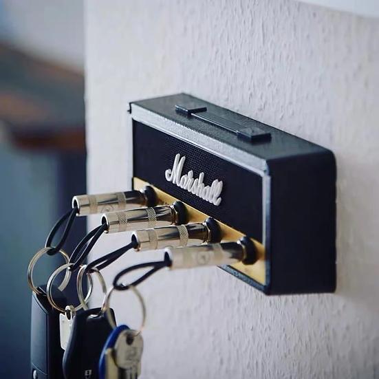 Marshall Plugin Key Holder set with 4 keychains