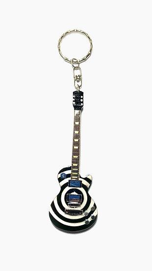 Black Label Society- Zakk Wylde Handcrafted Guitar Keychain