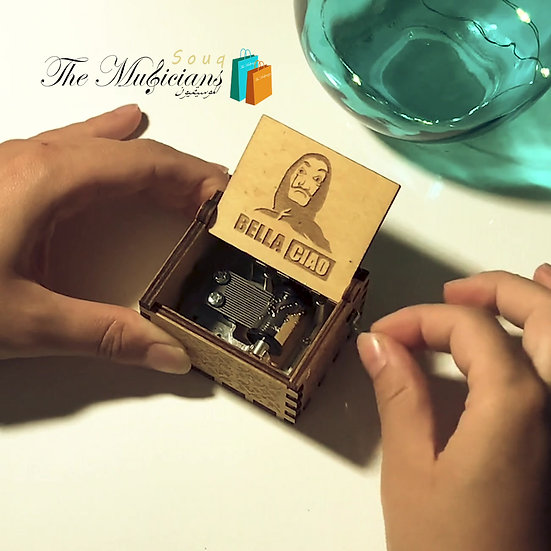 Bella Ciao Theme - Special Crafted Music Box