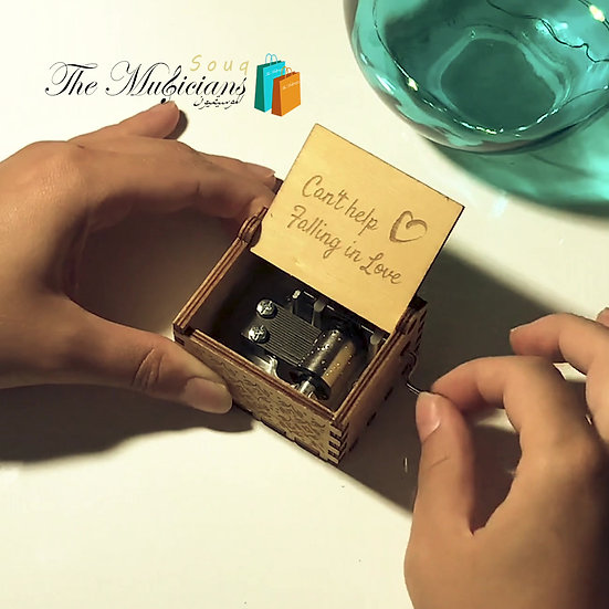 Can't Help Falling in love - Special Crafted Music Box