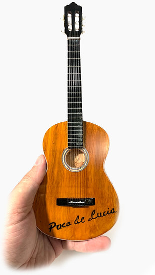 Paco de Lucía Handcrafted Guitar Miniature