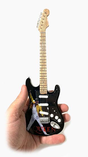 Queen - Freddie Mercury Handcrafted Unique Guitar Miniature