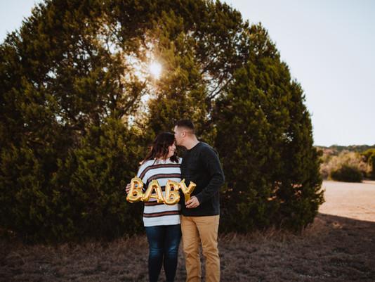 Deena + Justin - Pregnancy Announcement Session