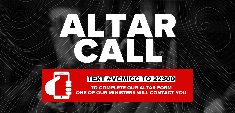 Altar Call Website Banner