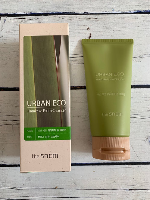 Пенка для умывания The Saem Urban Eco Harakeke Foam Cleanser