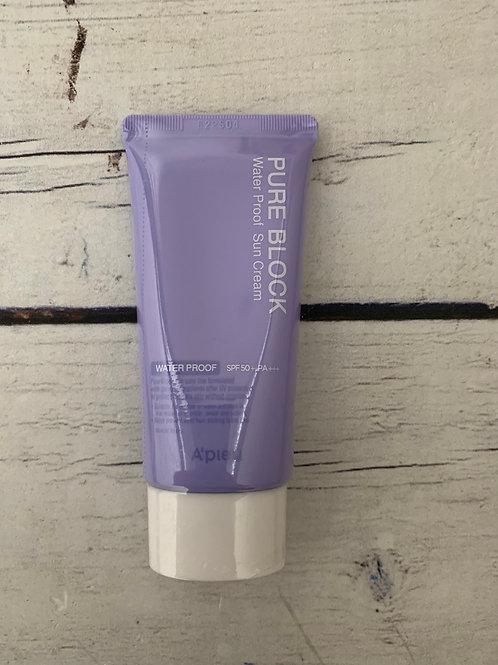 Водостойкий солнцезащитный крем для лица A'Pieu Pure Block Water Proof Natural S