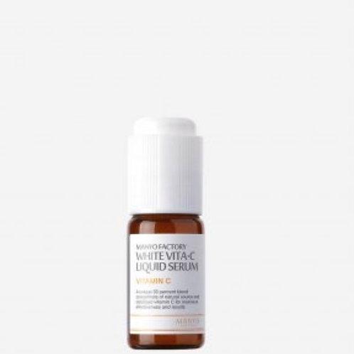 Осветляющая сыворотка с витамином С Manyo Factory White Vita·C Liquid Serum