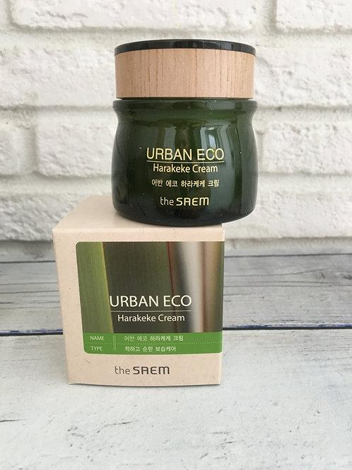 Освежающий крем с экстрактом льна The Saem Urban Eco Harakeke Fresh Cream