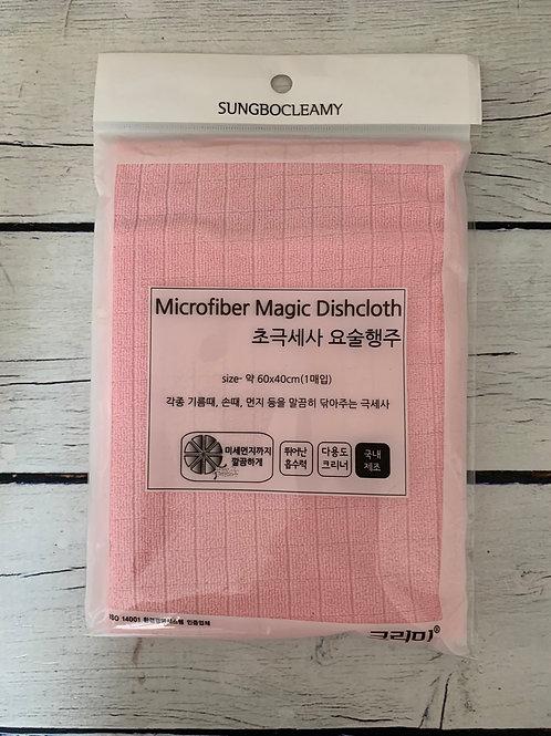 Sung Bo Cleamy Кухонное полотенце ( 60 х 40 ) MICROFIBER MAGIC DISHCLOTH 1PC 1шт