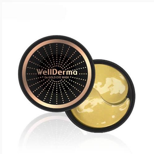 Омолаживающие патчи с германием и золотом WellDerma Ge Gold Eye Mask