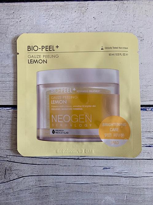 Пилинг-пэды с лимоном для сияния кожи Neogen Dermalogy Bio-Peel Gauze Peeling Le