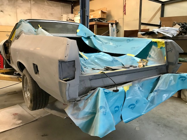 70 Chev El Camino Before