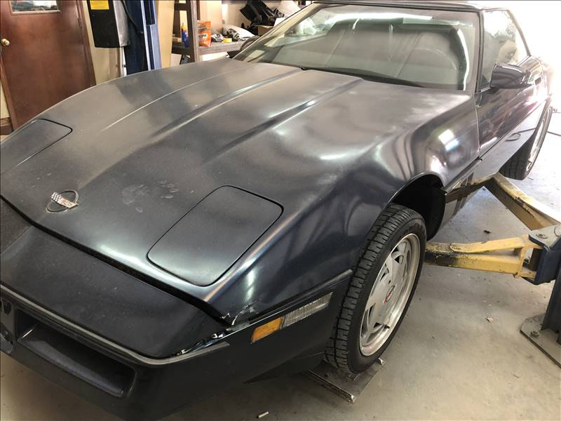 89 Chev Corvette Before