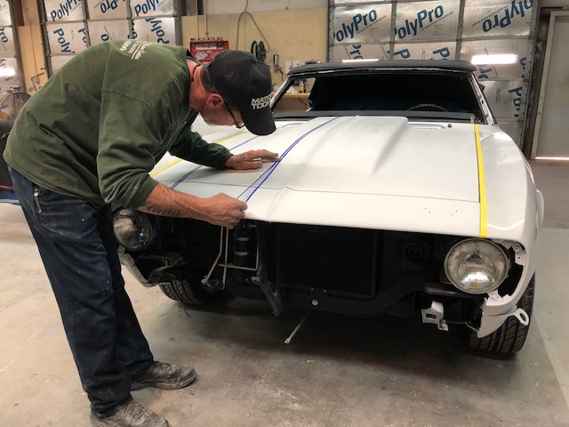 68 Chev Camaro Before